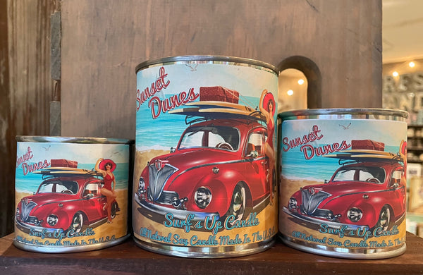 Sunset Dunes Paint Can Candle