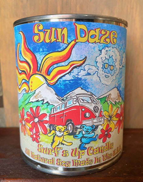 Grateful Dead Inspired Bus - Sun Daze Pint