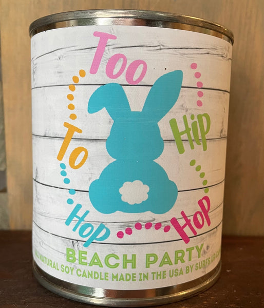 Beach Party - Easter Quote - Pint