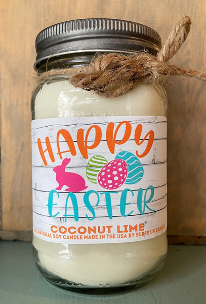 Coconut Lime - Easter Quote - Mason Jar