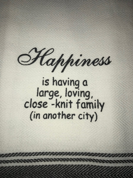 Happiness Towel