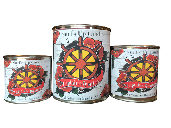 Captains Quarters Paint Can Candle