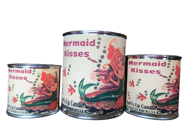 Mermaid Kisses Paint Can Candle