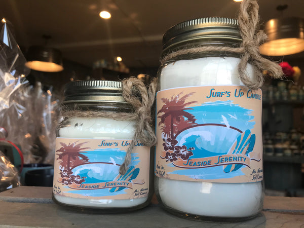 Seaside Serenity Vintage Jar Candle