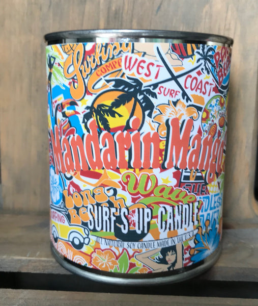 Mandarin Mango Paint Can Candle
