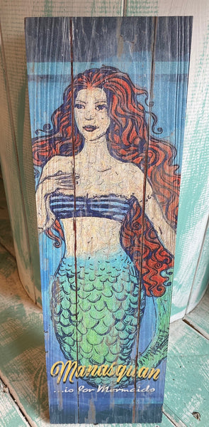 Manasquan Is For Mermaids Sign