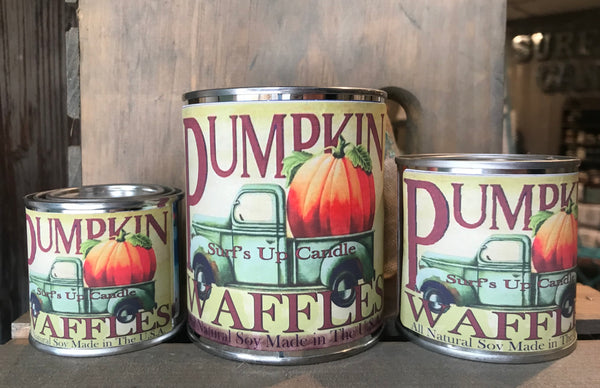 Pumpkin Waffles Paint Can Candle