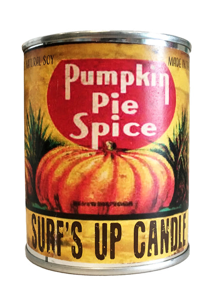 surfs up candle pumpkin spice soy candle