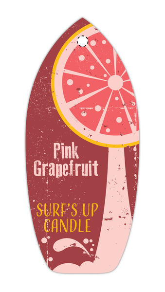 Pink Grapefruit Vintage Air Freshener