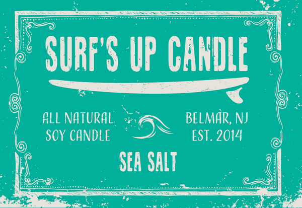 Sea Salt Mason Jar Candle