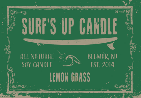 Lemon Grass Mason Jar Candle