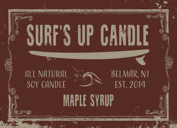 Maple Syrup Mason Jar Candle