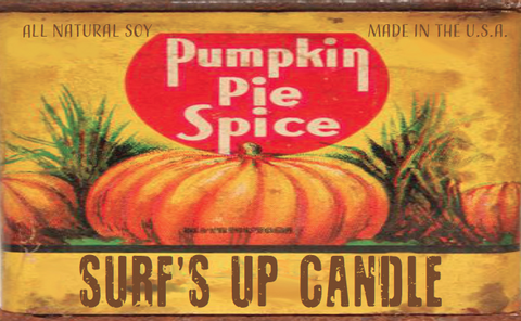 Pumpkin Spice Paint Can Candle