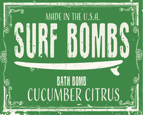 Cucumber Citrus Surf Bomb