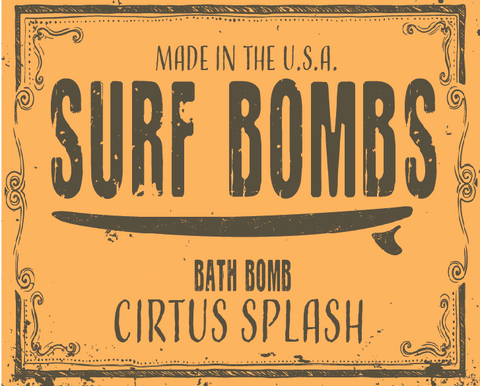 Citrus Splash Surf Bomb