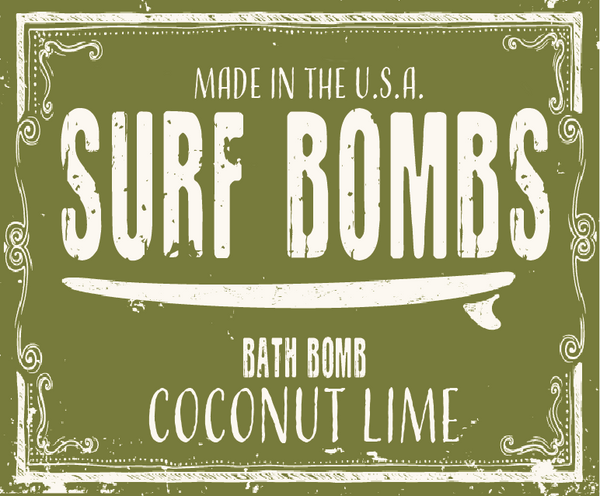 Coconut Lime Surf Bomb