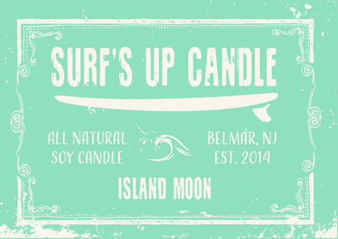 Island Moon Mason Jar Candle