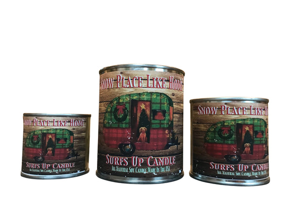Snow Place Like Home Paint Can Candle