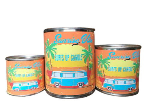 Sunrise Vibe Paint Can Candle