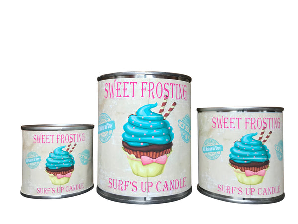 Sweet Frosting Paint Can Candle