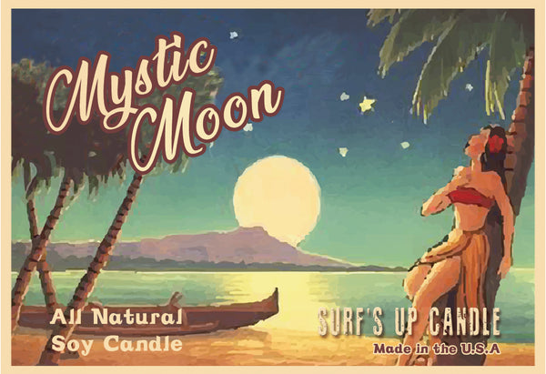 Mystic Moon Paint Can Candle
