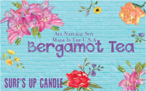 Bergamot Tea Vintage Jar Candle