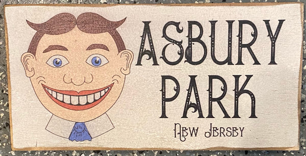 Tillie- Asbury Park NJ Vintage Sign - Small