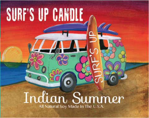 Indian Summer Vintage Jar Candle