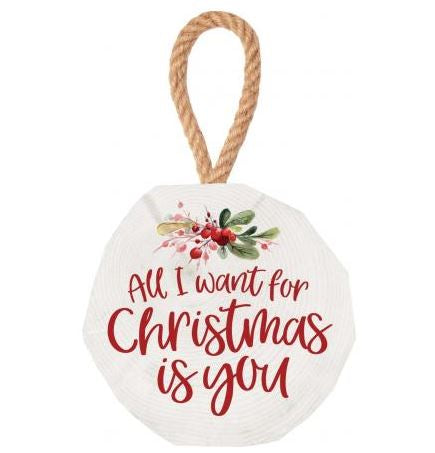 All I Want For Christmas Is You Ornament