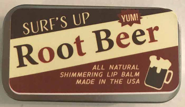 Root Beer Shimmering Lip Balm
