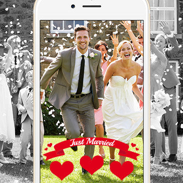 Personalized Snapchat Filter - Pack of 1