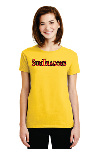 SunDragons Ladies' Cotton Tee