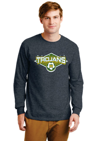 MHS Boys' Soccer Long-Sleeve Cotton Tee