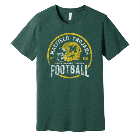 "MHS Football ""Helmet"" Logo Cotton Tee"