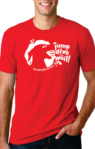 Jump Dive Wail Unisex Cotton Tee