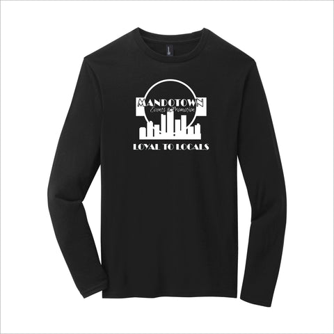 Mandotown Loyal To Locals Long-Sleeve Tee