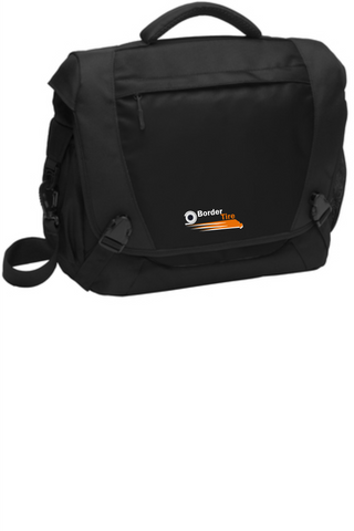 Border Tire Computer Messenger Bag
