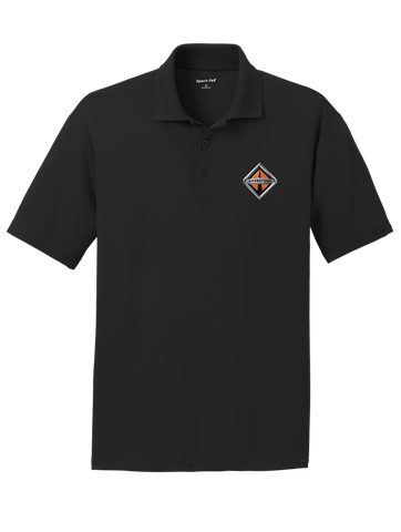 Border International Diamond Logo RacerMesh Polo