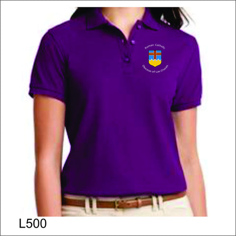 Diocese of Las Cruces Ladies Silk Touch Polo