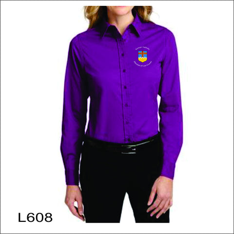 Diocese LC Ladies' Long Sleeve Easy Care Shirt