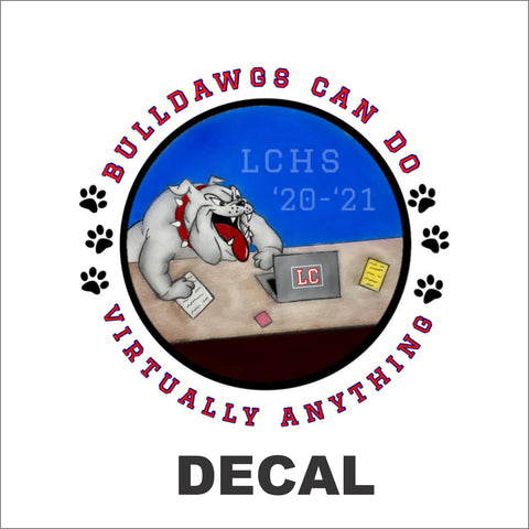 LCHS Student Government Decal - Virtually Anything