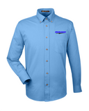 Idealease Easy Blend™ Long-Sleeve Twill Shirt with Stain-Release