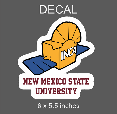 NMSU Nanosatellite Club INCA Decal