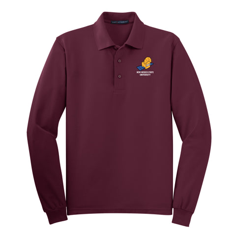 NMSU Nanosatellite Club INCA Long-Sleeve Polo