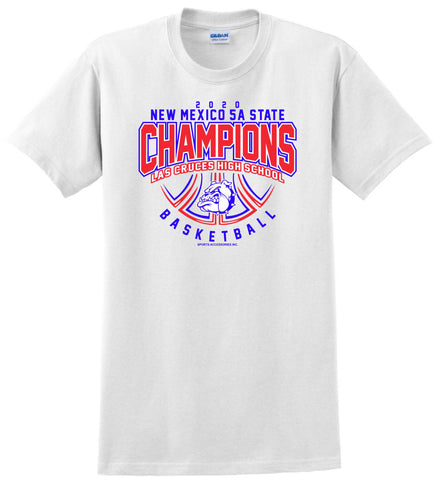LCHS Boys' Basketball 5A State Champion Shirt