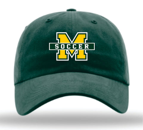 Mayfield Lady Trojans Soccer Garment Washed Adjustable Cap