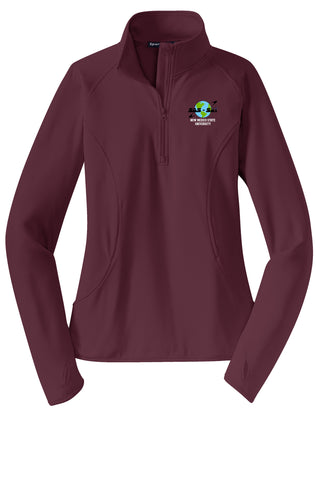 NMSU Nanosatellite Club SAS-SAT Ladies' 1/2-Zip Pullover