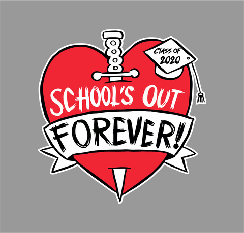 School's Out Decal