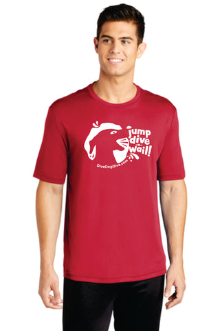 Jump Dive Wail Performance Tee