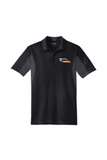 Border Tire Official Uniform Side Blocked Micropique Performance Polo